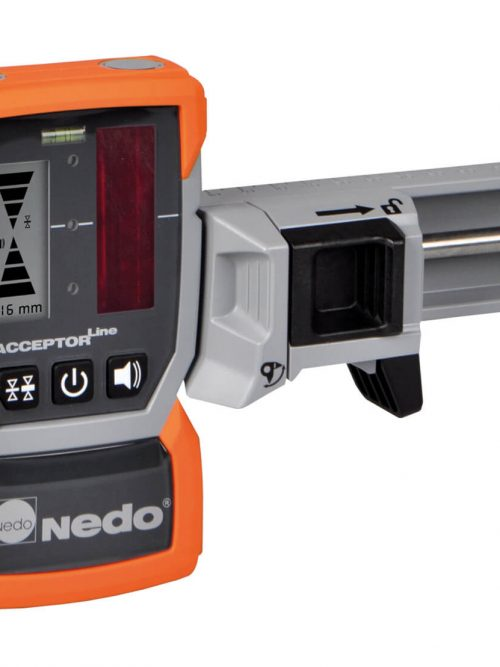 Nedo Laser Receivers ACCEPTORpro+ Large detector field: 50 mm