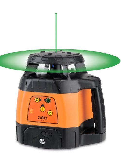 Geo-Fennel FLG 245HV-GREEN (LC 2) & FR 45, green light, rotating laser