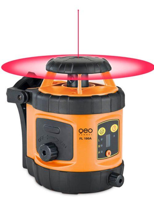 Geo-Fennel FL 190A (LC 2) & FR 45 rotating laser