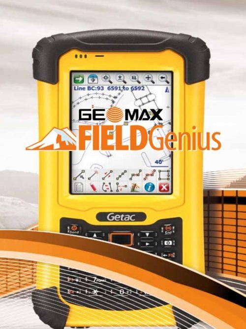 GeoMax FIELDGenius 10 Premium Edition (all inclusive version) office survey software