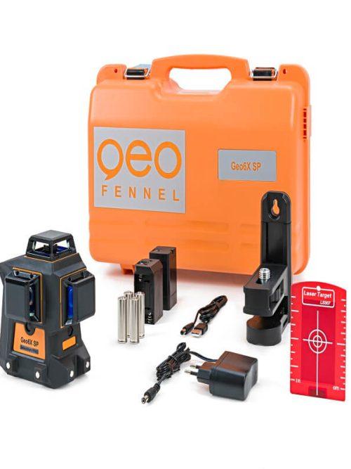 Geo-Fennel Geo6X KIT SP line laser set