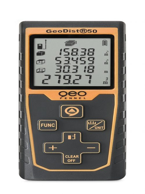 Geo Fennel GeoDist50 distance measurement in construction