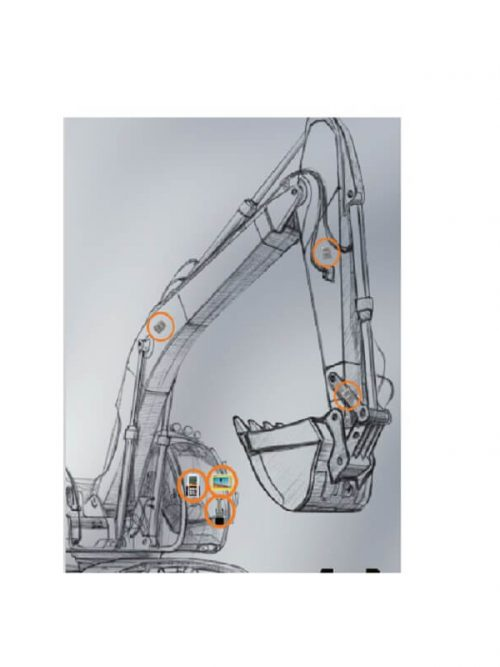"""GeoMax EzDig """"S"""" Extra Machine Kit for another machine"""