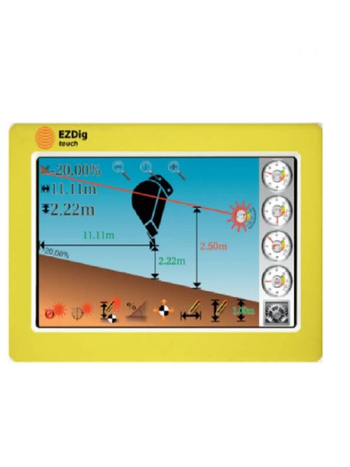 GeoMax EzDig T Excavator Guidance System Touch, machine control system