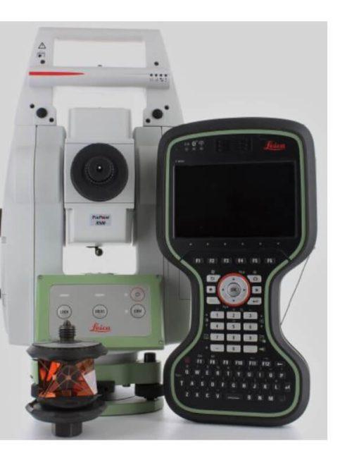 """Leica TS13 3"""" R500 Robotic with CS20 3.75G Disto"""