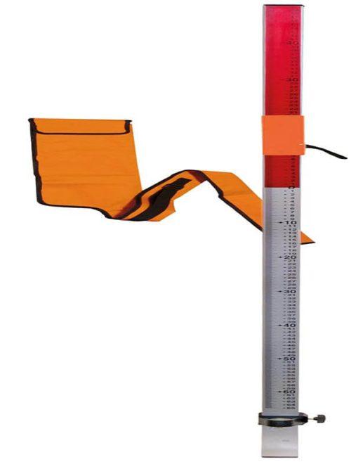 Nedo Flexi rod set with universal aluminium adapter and case