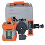 Nedo Rotating laser PRIMUS2 H2N and H2N+ Direct grade entry for the x and y axes
