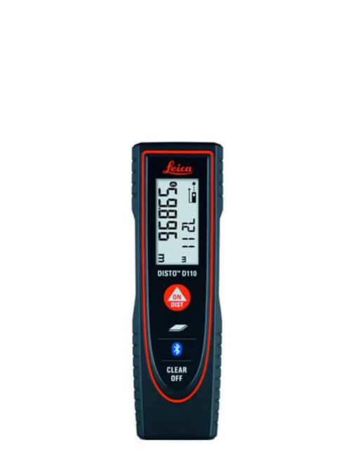 Leica DISTO™ D110 with Bluetooth measures heights, distances as well as niches quickly and reliably