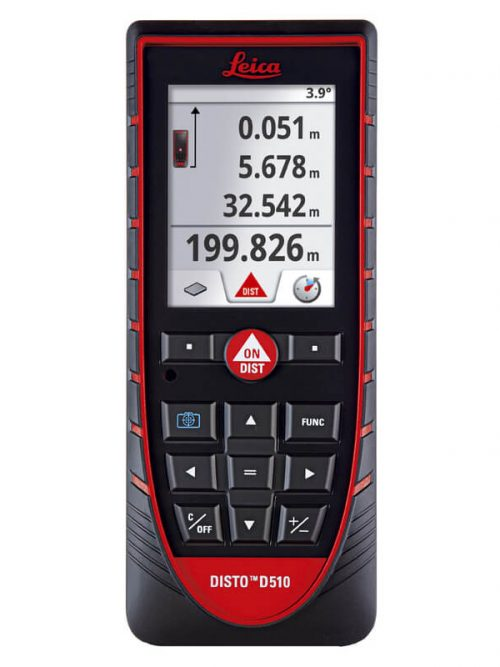 Leica DISTO™ D510 with Bluetooth allows easy and trouble-free distance measuring in outside areas