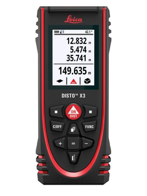 Leica DISTO™ X3 is laser distance meter