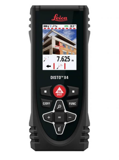 Leica DISTO™ X4 with measuring range 0.05 m to 150 m