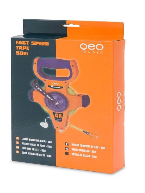 Geo-Fennel Fast Speed Tape 30 x 12,5 mm Nylon coated steel tape