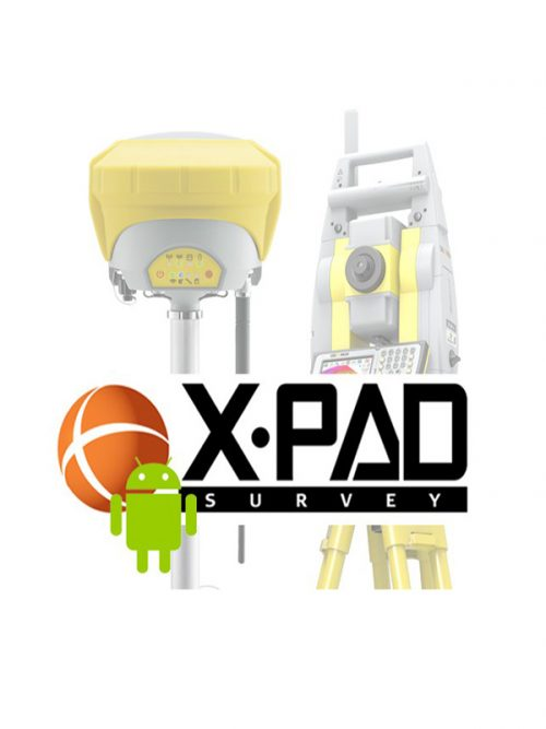 GeoMax X-PAD Ultimate Survey GNSS office survey software
