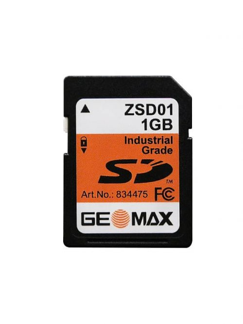 GeoMax SD 1GB Additional onboard storage for the Zoom90