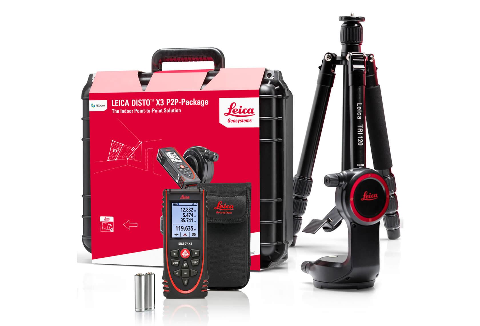 Leica Geosystems Distos and Accessories 1680 1142